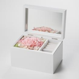 Special高級オルゴール ジュエリーボックス≪ピンク≫プリザーブドフラワー