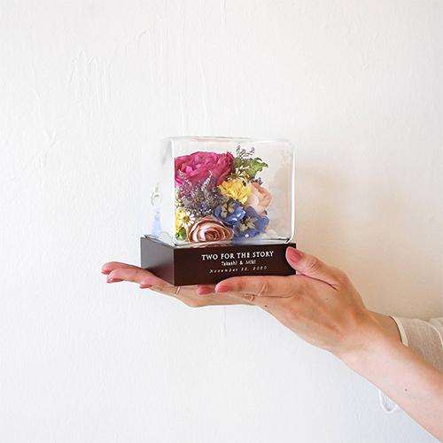 【アフターブーケ】ウルル  ビター 生花のドライフラワー加工