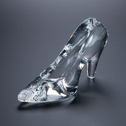 シンデレラの靴 クリスタルガラス
