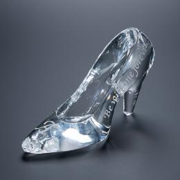 名入れ彫刻 シンデレラの靴 クリスタルガラス