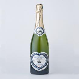 愛し合うカップルのためのシャンパン(ブラン・ド・ブラン)アンリ・ド・ヴォージャンシー