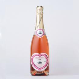 愛し合うカップルのためのシャンパン(ロゼ)アンリ・ド・ヴォージャンシー