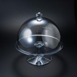 【プロポーズ】クリスタルガラスの靴用 保管ドーム