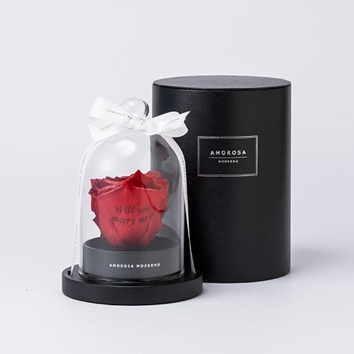 【ホテルでプロポーズ】リトルベル Specialダイヤモンドローズ+フラッグ装飾セット