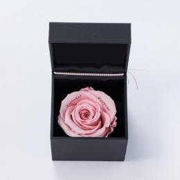 【プロポーズ】ボックスフラワー Specialダイヤモンドローズ ピンク