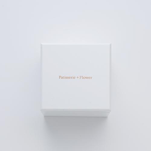 ミニ高級ホワイトオルゴールボックス≪ブルー≫