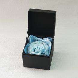 プロポーズボックス ROSE BOUTE ブラックBOX ≪ソーダブルー≫