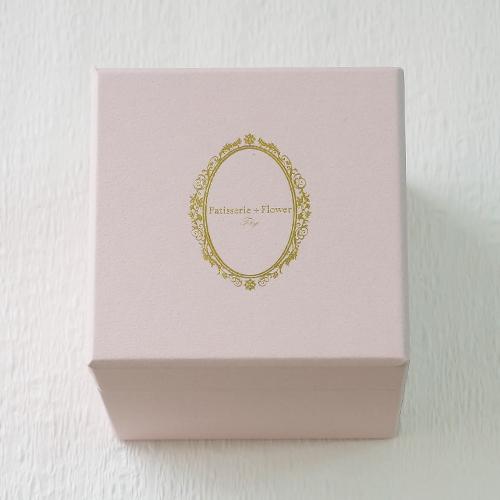 プロポーズボックス ROSE BOUTE ピンクBOX ≪ハニーイエロー≫