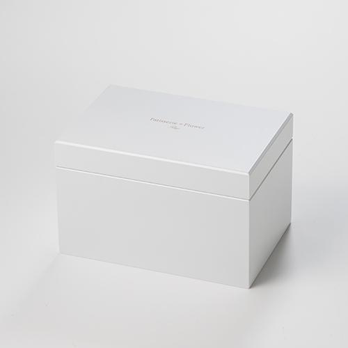 Special高級オルゴール ジュエリーボックス≪イエロー≫プリザーブドフラワー